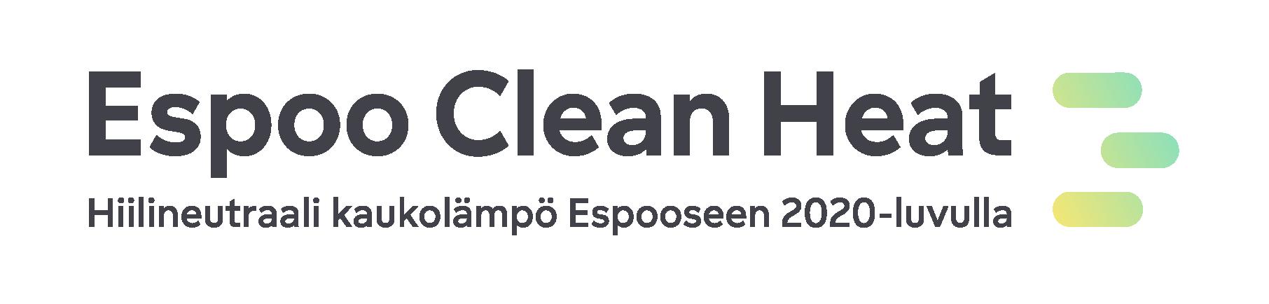 Espoo Clean Heat -hankkeen logo