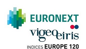 Euronext vigeoeiris indices Europe 120