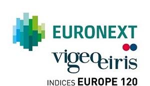 Euronext vigeoeiris indices Europe 120