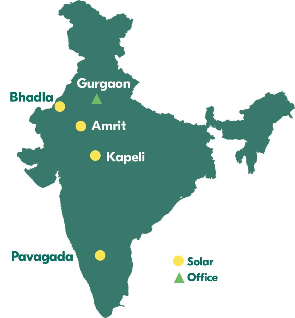 Fortumin toiminnot Intiassa