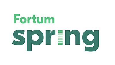 Fortum Spring logo