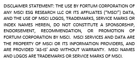 MSCI ESG Disclaimer