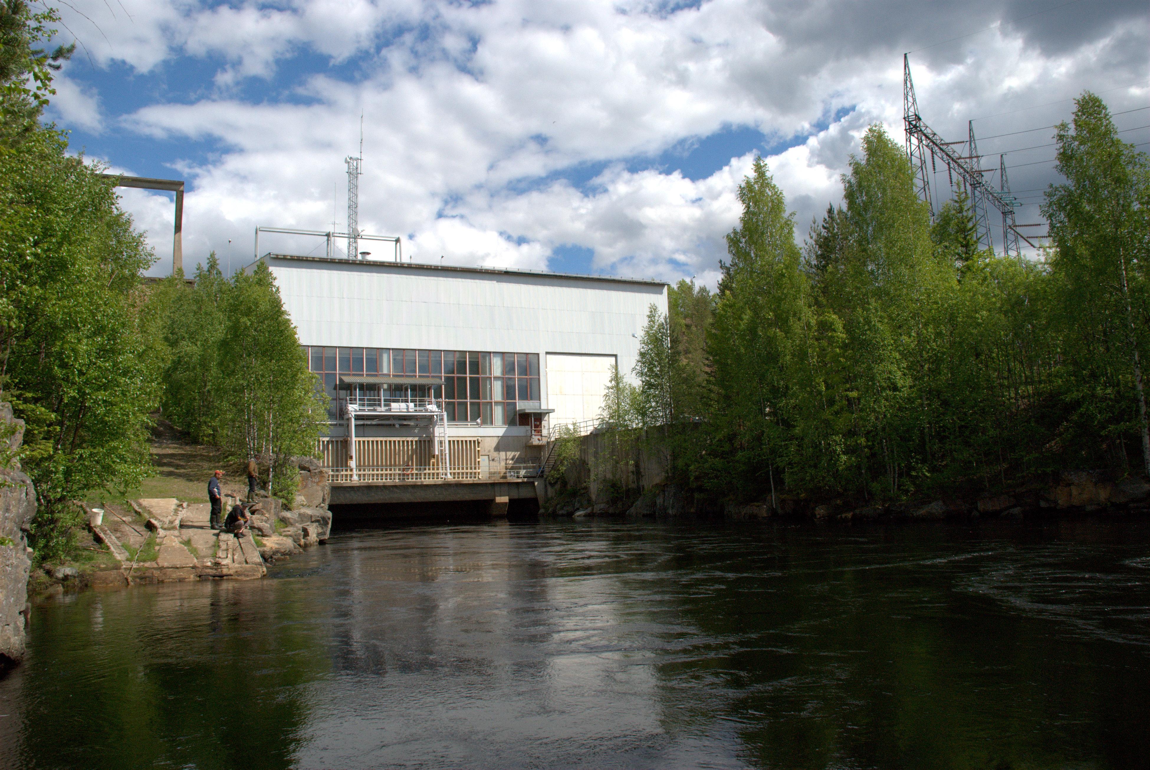 Seitenoikean vesivoimalaitos