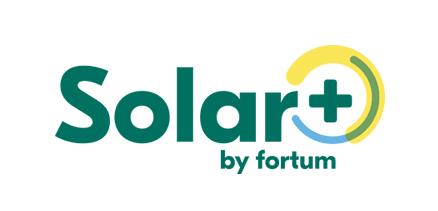 Solarplus by fortum valk tausta