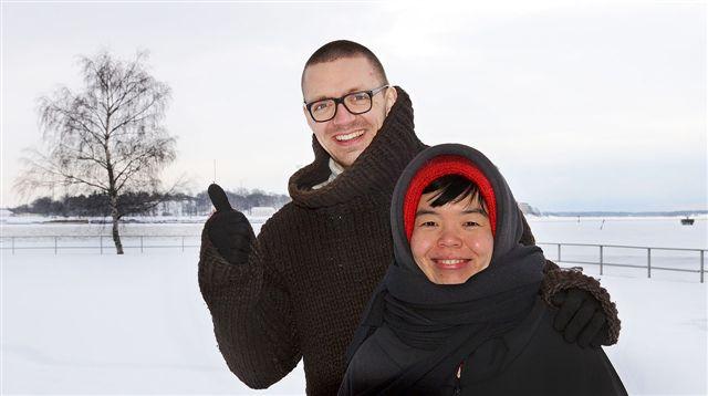 Tuomas Toivonen ja Nene Tsuboi