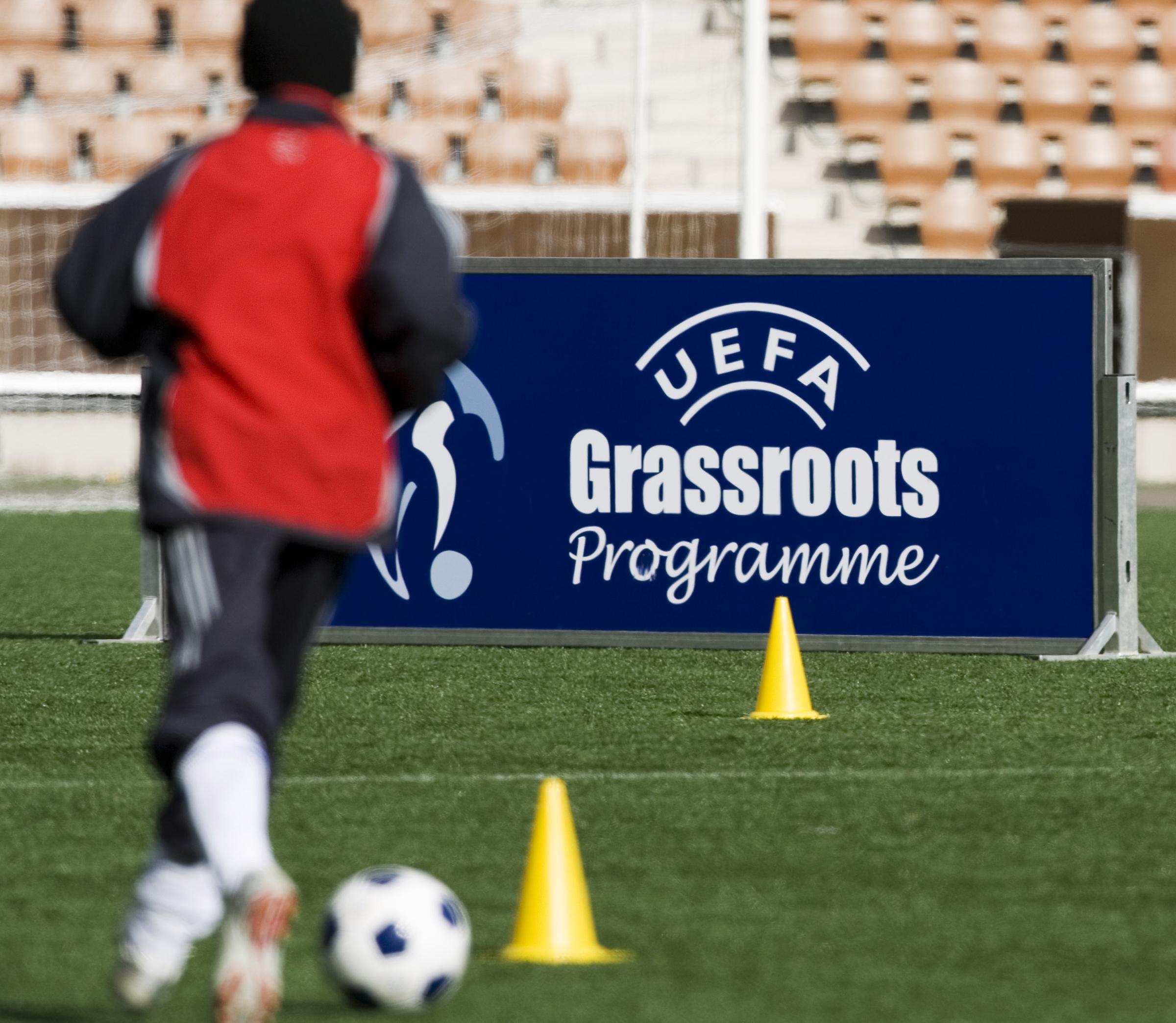 Fortum Tutor -ohjelma palkittiin UEFA Grassroots -tunnustuksella