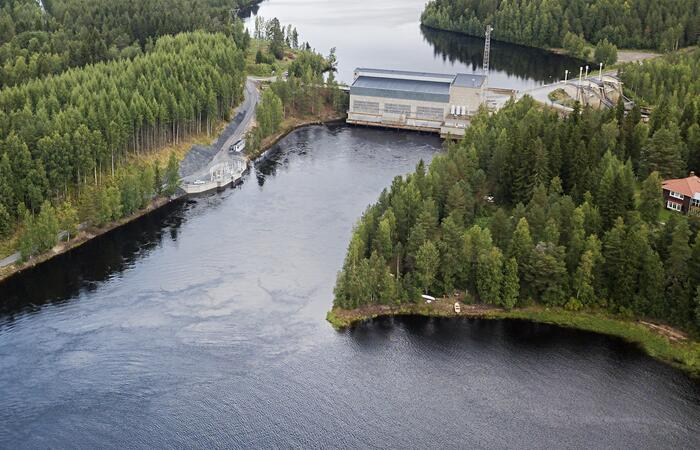 Montan vesivoimalaitos, Suomi
